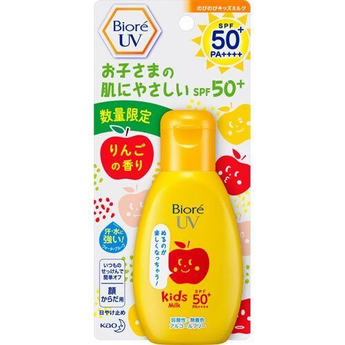 Biore UV Kids Milk, SPF50+ PA++++, Kao, 90 гр